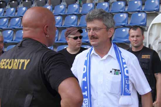 Magdeburg Präsident  Peter Fechner.