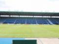Im Stadion des 1. FC Magdeburg.