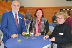 Bürgermeister Švarc und seine Frau aus Vinoř