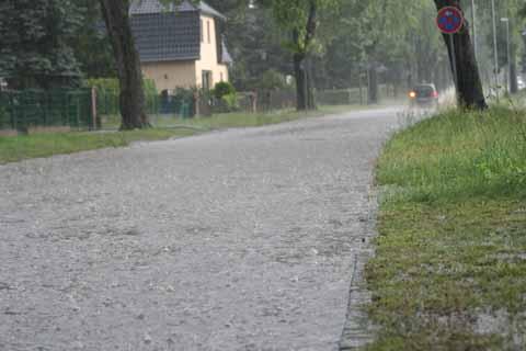 Sintflut über Schulzendorf