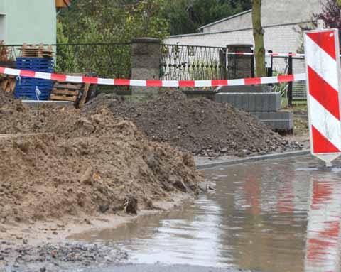 Straßenausbau: Walter Rathenau Straße – kein Ende in Sicht?