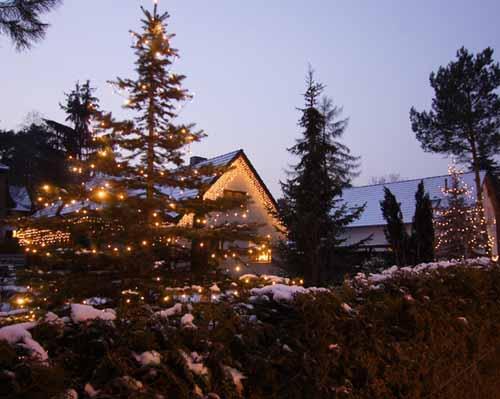 Das Weihnachtshaus 2009