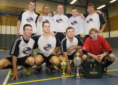 Prager Kicker gewinnen das 13. Schulzendorfer Bürgermeisterturnier