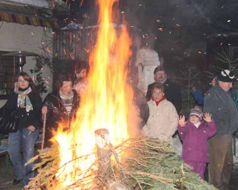 In der Hans Sachs Straße brannte es lichterloh!