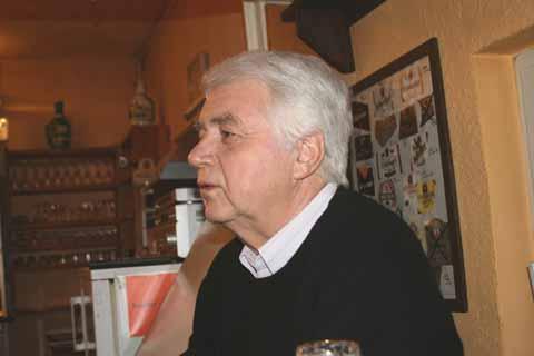 Zu Gast in Schulzendorf: Helmut Recknagel!