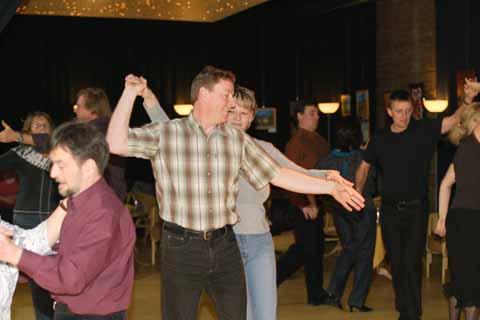 Heißer Tanz im Klub!