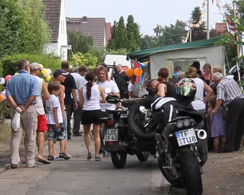 Ausnahmezustand in der Grünen Trift: Beim ersten Straßenfest war jede Menge los!