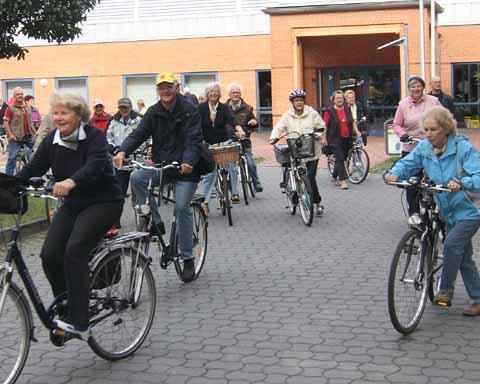 Landpartie: Mit dem Fahrrad auf Entdeckungstour