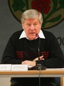 Erklärung des Vorsitzenden der Gemeindevertretung Schulzendorf, Dr. Werner Effler (Linkspartei):