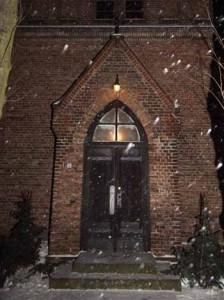 Vorweihnachtliche Stimmung in der Patronatskirche.