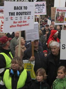 BBI Flugroutenprotest: Großdemonstration am Sonntag – Schulzendorfer auf die Straße!