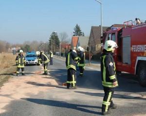 Kurz notiert: Feuerwehr hatte am Samstag den Kopf voll!