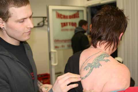 Im Aufwind: Herwegh Center – Tattoo Studio feierte mit vielen Gästen seine Eröffnung!