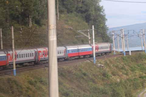 Unterwegs mit der Transsibirischen Eisenbahn (1).