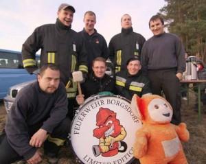TS Blasen: Schulzendorfs Feuerwehrleute sind echt Spitze!