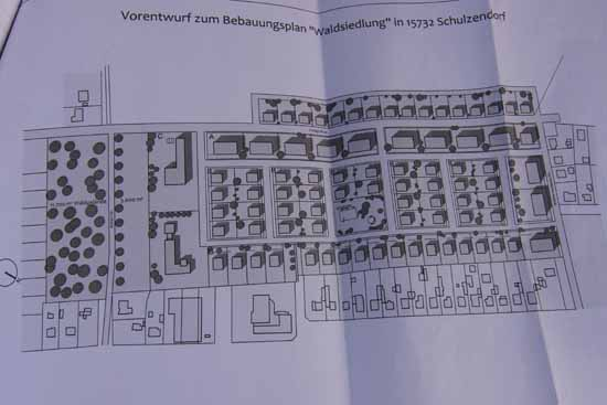Waldsiedlung: Planungsentwurf liegt auf dem Tisch!