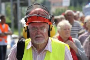 Nur wenig Schallschutzmaßnahmen sind bislang umgesetzt.