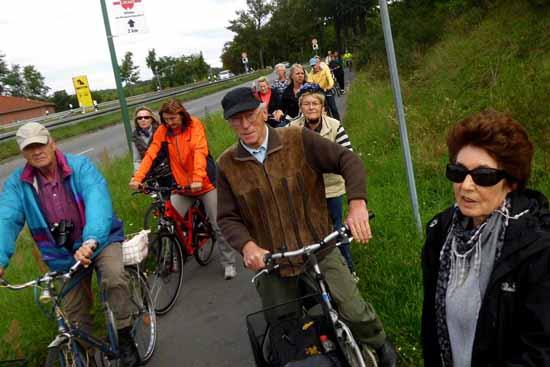 Kulturhistorische  Radtour.