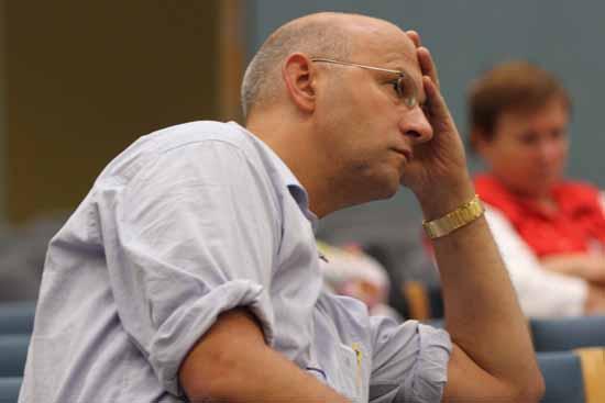 Christoph Schulze ist fraktionsloser Abgeordneter im Landtag Brandenburg. (Foto: Wolff)