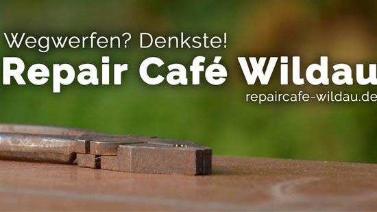 Wegwerfen? Denkste! – Repair Cafe Wildau.