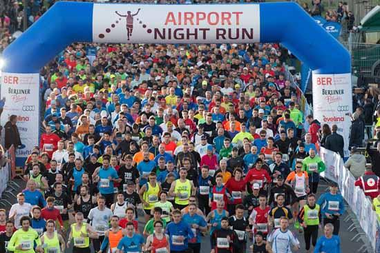 Corona Virus: Airport Night Run 2020 steht auf der Kippe!
