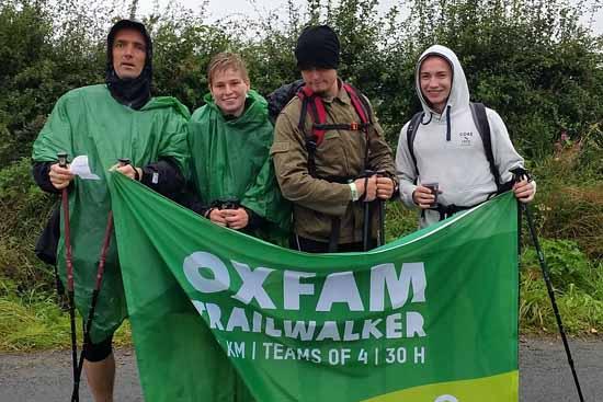 Extrem Sport für extrem guten Zweck – Wander Team sucht noch Förderer.