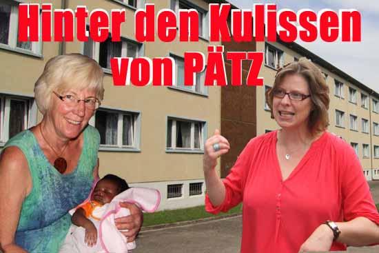 Bürger aus der Umgebung des Flüchtlingsheimes kümmern sich um Asylbewerber und Flüchtlinge. Einrichtungsleiterin Claudia Wußow (rechts) ist unter den über 100 Heimbewohnern beliebt. Sie unterhält sich mit ihnen auf Deutsch, Englisch und Russisch. (Foto: mwBild)