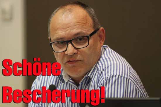 Andreas Körner (Bündnis90/Grüne) unterstützt den Steuererhöhungsplan von Bürgermeister Mücke. (Foto: mwBild)