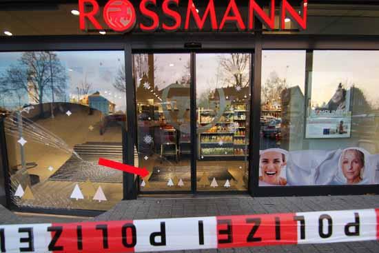 Erneut im Visier von Einbrechern: Der Drogeriemarkt im Ortszentrum. (Foto: mwBild)
