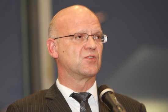 Kreisumlage - Prozess: Füt Landrat Stephan Loge steht eine Menge auf dem Spiel. (Foto: Wolff)