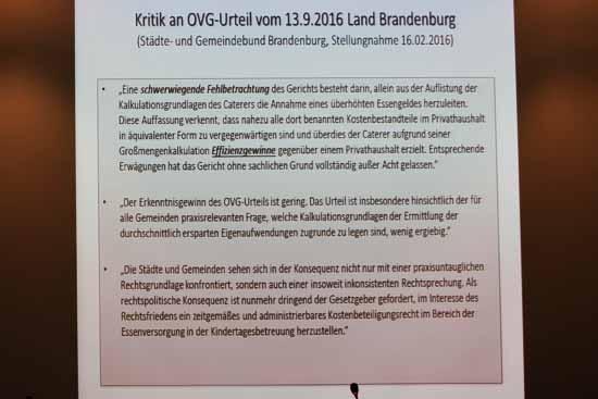 Peinlich: Rathaus giftet mit Falschinformation gegen das höchste Brandenburger Gericht