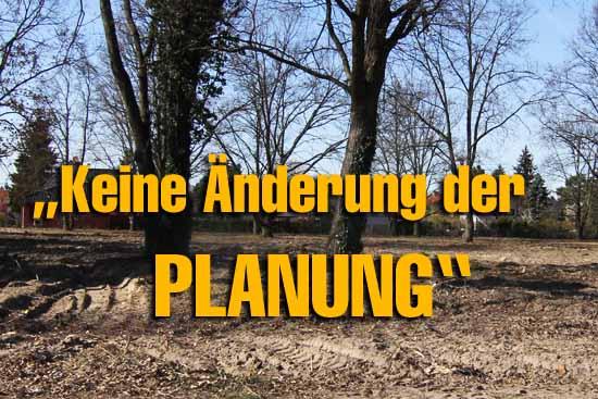 Weißer Fleck: Rathaus will Anwohner Protest gegen Baupläne vom Tisch fegen