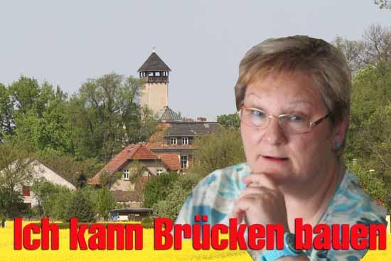 Im Kreuzverhör: Bürgermeisterkandidatin WINNIFRED TAUCHE