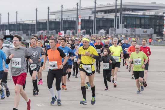 Airport Night Run: Am BER lief mal was