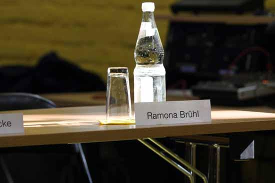 Ramona Brühls Stuhl blieb leer. (Foto: mwBild)