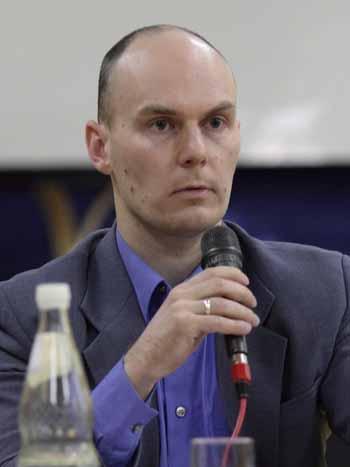 Markus Hecker ist in leitender Tätigkeit in einem Metallbaubetrieb tätig. (Foto: mwBild)