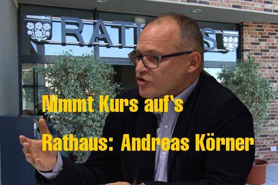 Andreas Körner - Aussichtsreicher Kandidat oder Außenseiter? (Foto: mwBild)