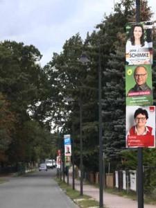 Rechtsbruch: Bürgermeisterkandidaten kritisieren Plakat – Attacke