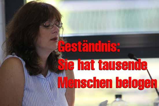 Eine offizielle Stellungnahme zu ihrem Schummel - Lebenslauf hat Martina Mieritz bislang nicht abgegeben. (Foto: mwBild)