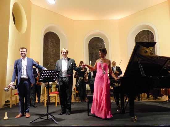 Purer Hörgenuss bei der Eröffnung der Schlosskonzerte Königs Wusterhausen