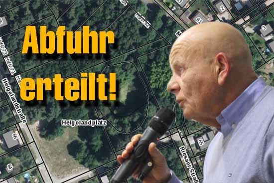 Ortsentwicklungsausschuss: Investor Hauff konnte mit seinen Absichten bei der Mehrheit der Volksvertreter nicht punkten. (Foto: mwBild)