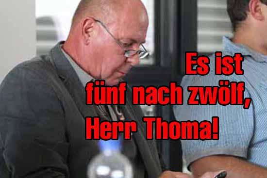Absturz: Die Zweifel an der Tauglichkeit von SG – Präsident Thoma wachsen.