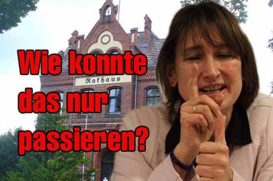 Beate Burgschweiger hat ihrer Partei mit ihrem Auftritt ein Bärendienst erwiesen. (Foto: mwBild)