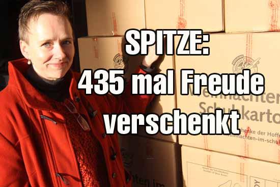 """Die Hilfsaktion """"Weihnachten im Schuhkarton"""" wird weltweit organisiert. (Foto: mwBild)"""