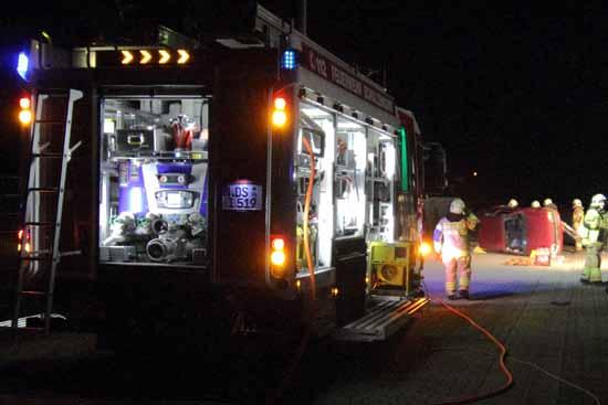 Feuerwehr probte den Ernstfall