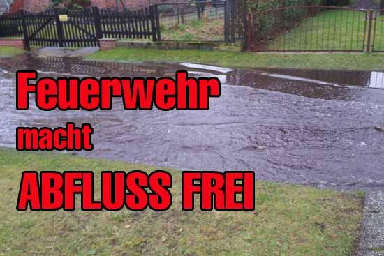 Unzureichende Wartung der Entwässerungsanlage führte zu Überflutung. (Foto:PP)