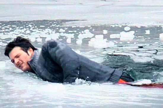 Eisflächen sollten derzeit nicht betreten werden. (Symbolbild)