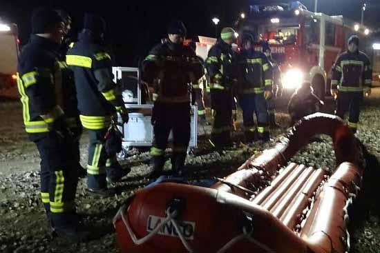 Miersdorfer See: Zeuthener Feuerwehr probt Ernstfall