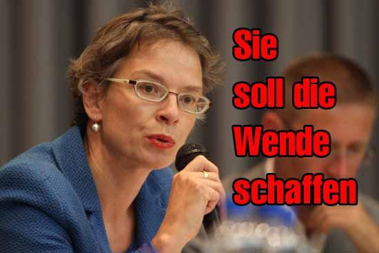 Tina Fischer - charmant und umstritten. (Foto: mwBild)