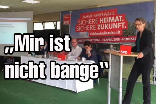 Neue Parteichefin: Fischer will SPD zu alter Stärke führen